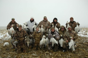 Snow Goose Guides Mound City, Missouri