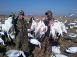 Guided Spring Snow Goose Hunts - Mound City, Missouri - 402-304-1192