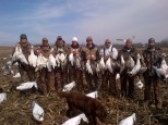 Guided Spring Snow Goose Hunts - Mound City, Missouri - 402-304-1192